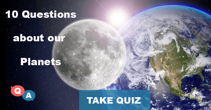 10 Questions about our planets