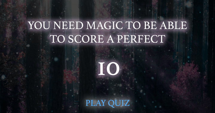 Do you have the skills to score a perfect 10?