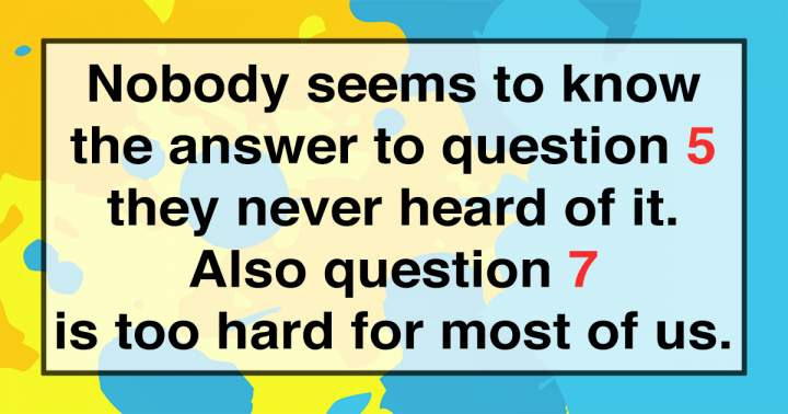 Can you answer all 10 questions correctly?