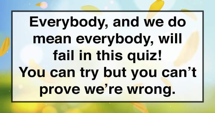 Unbeatable Trivia Quiz