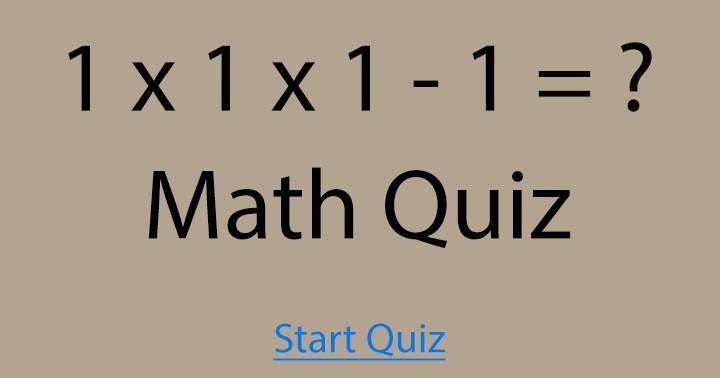 Do you know the correct outcome?