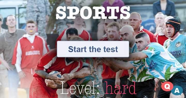 Hard Sports quiz