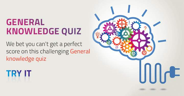 We don't think you can get a decent score on this Mixed Knowledge Quiz