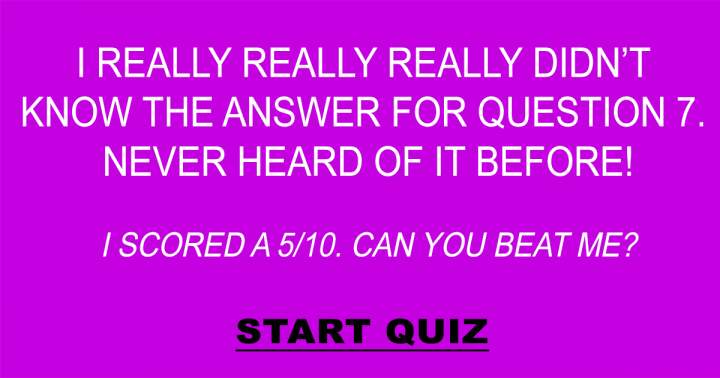 Challenging Trivia Questions
