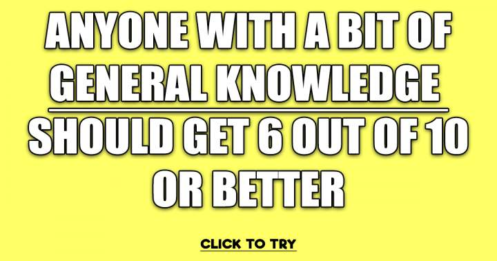Mixed General Knowledge