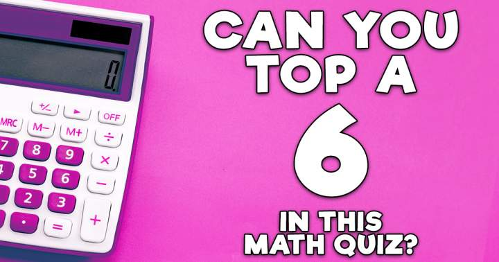 Mathematics Quiz