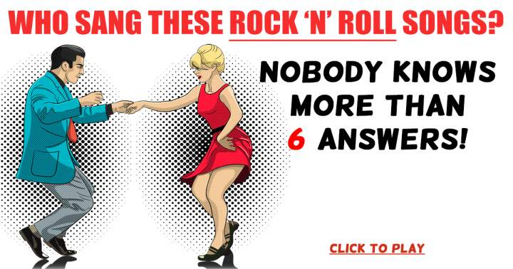 Who Sang These Rock 'n' Roll Songs?