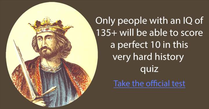 Take the official history test