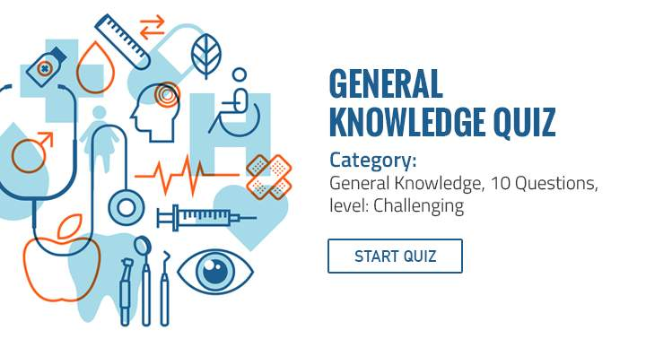 Category: General Knowledge, Level: Challenging, Questions: 10