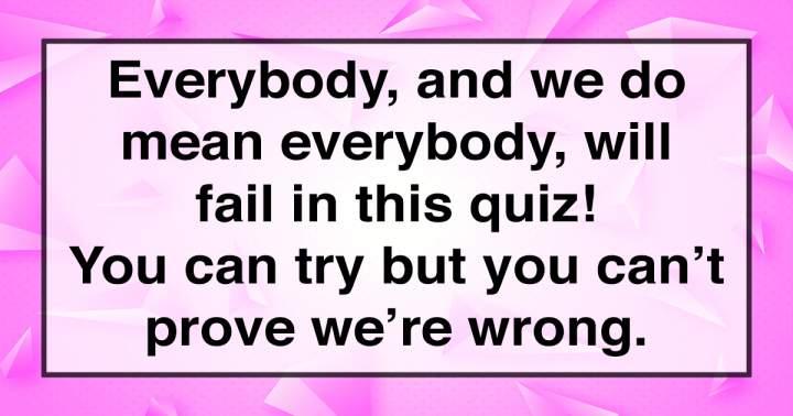 Unbeatable Knowledge Quiz