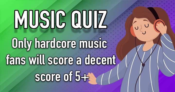 Challenging Music Quiz